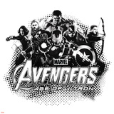 The Avengers: Age of Ultron - Hulk  Black Widow  Thor  Iron Man  Captain America and Hawkeye