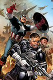 Secret Warriors No18: Nick Fury  Captain America  Dum Dum Dugan