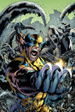 Wolverine: The Best There is No10 Cover: Wolverine Screaming and Fighting