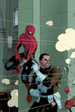 Spectacular Spider-Man No1000 Cover: Spider-Man and Punisher