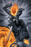 Thunderbolts 20 Cover: Ghost Rider