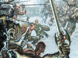 Thor: For Asgard No1: Thor and Fandral Fighting
