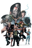 X-Factor No23 Cover: Madrox  Wolfsbane  Miller  Layla  Siryn and Quicksilver