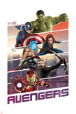 The Avengers: Age of Ultron - Hulk  Captain America  Black Widow  Thor  Hawkeye  Iron Man