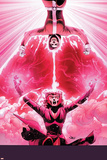 Uncanny Avengers 9 Cover: Rogue  Scarlet Witch