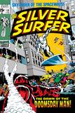 Marvel Comics Retro: Silver Surfer Comic Book Cover No13