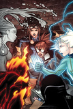 Young Allies No3 Cover: Spider-Girl and Nomad