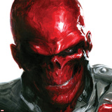 Vengeance No5 Cover: Headshot of Red Skull