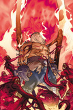 Thor No618 Cover: Odin Standing