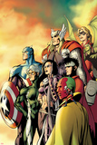 I Am an Avenger No5 Cover: Ant-Man  Vision  Hawkeye  Wiccan  Speed  Captain America and Others