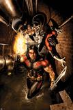 Uncanny X-Men No488 Cover: Storm  Nightcrawler and Thunderbird