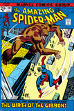 The Amazing Spider-Man No110 Cover: Spider-Man and Gibbon