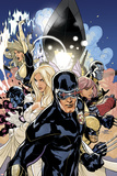 Uncanny X-Men No505 Cover: Cyclops  Emma Frost and Dazzler