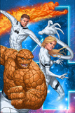 Fantastic Four No604 Cover: Thing  Invisible Woman  Mr Fantastic  and Human Torch