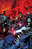 Wolverine and the X-Men 37 Cover: Wolverine  Raze  Beast  Xorn  Kymera  Deadpool  Kid Omega
