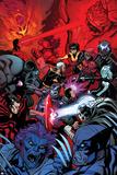 Wolverine and the X-Men 37 Cover: Wolverine  Raze  Beast  Xorn  Kymera  Deadpool  Kid Omega