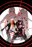 Hawkeye & Mockingbird No3 Cover: Hawkeye and Mockingbird