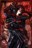 X-Force No9 Cover: Wolverine and Domino