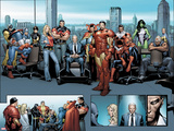 House of M MGC No1: Captain America  Carol Danvers  Wonder Man  Professor X  Iron Man and Others