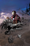 Invincible Iron Man No515 Cover: Iron Man and War Machine