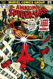 Marvel Comics Retro: The Amazing Spider-Man Comic Book Cover No123  Luke Cage - Hero for Hire