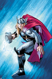 The Mighty Thor No121 Cover: Thor with Mjonir