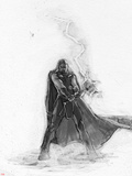 The Avengers: Age of Ultron - Sketch of Thor