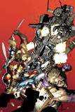 Ultimate Avengers vs New Ultimates No1: Hawkeye  Captain America  Punisher  Iron Man and Others