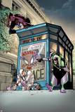 Superior Spider-Man 6 Cover: Spider-Man  Screwball  Jester