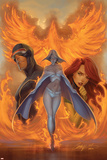 What if Astonishing X-Men No1 Cover: Emma Frost  Phoenix and Cyclops