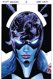 Mighty Avengers 2 Cover: White Tiger  Spider-Man  Cage  Luke  Rambeau  Monica  Proxima Midnight