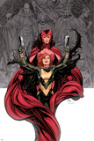 Avengers Vs X-Men No0 Cover: Hope Summer and Scarlet Witch
