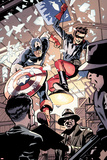 Captain America and Bucky No621: Busting in on Some Crime!