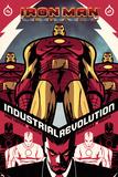 Iron Man Legacy No6 Cover: Iron man Standing