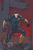 X-Men: Prelude to Schism No3 Cover: Cyclops Standing on Rubble