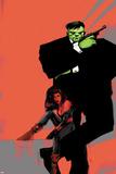Incredible Hulks No626 Cover: Hulk and Red She-Hulk
