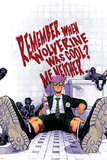 Wolverine & The X-Men No3 Cover: Quentin Quire Sitting in the Bathroom