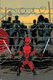 Deadpool 16 Cover: Deadpool  Colossus  Sunfire  Banshee  Wolverine  Cyclops  Storm