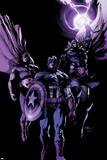 Avengers 22 Cover: Hyperion  Captain America  Thor