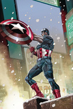 Captain America 11 Cover: Captain America