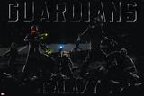 Guardians of the Galaxy - Rocket Raccoon  Drax  Star-Lord  Gamora  Groot