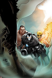 Iron Man 20 Cover: War Machine  Iron Fist  and Fat Cobra