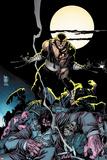 Daken: Dark Wolverine No7 Cover: Daken Under the Moon at Knight