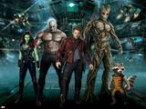 Guardians of the Galaxy - Rocket Raccoon  Draxm Star-Lord  Gamora  Groot
