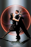 Invincible Iron Man No30 Cover: Tony Stark and Justine Hammer Posing