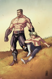 Secret Warriors No22: Ares and Phobos Standing