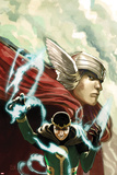 Journey Into Mystery No622 Cover: Thor and Loki
