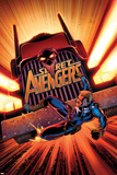 Secret Avengers No17 Cover: Steve Rogers Falling in front of a Truck