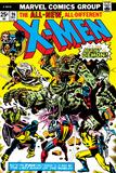 Marvel Comics Retro: The X-Men Comic Book Cover No96  Fighting the Night Demon