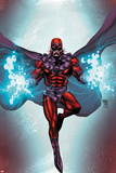Magneto No1 Cover: Magneto Flying